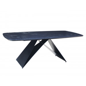 Ava SK2043T Dining Table Black
