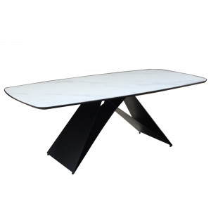 Ava SK2043T Dining Table White