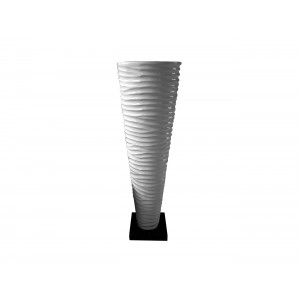 Grooved Urn With Base (Urn517-A)