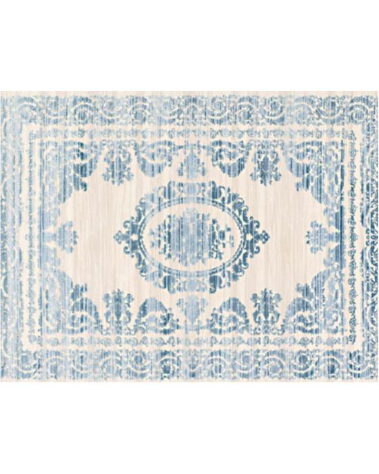 Beverly 1501 Beige Blue Rug 160cm x 230cm