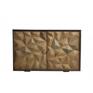 2492R Wooden 2 Door Cabinet