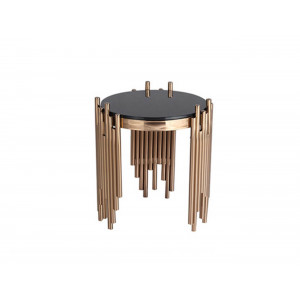 Coco Lamp Table Rose Gold